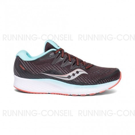 SAUCONY RIDE ISO2 Femme - Brown | Coral