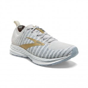 BROOKS BEDLAM 2 Femme | White/Grey/Gold