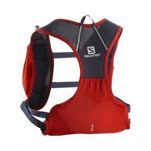 SALOMON - Sac / Gillet AGILE 2 SET - fiery red/ graphite