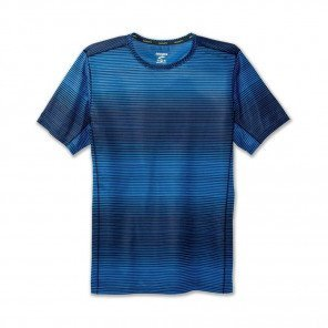 BROOKS TEE-SHIRT MANCHES COURTES GHOST HOMME | AZUL HAZE | Collection Printemps-Été 2019