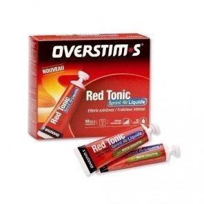 OVERSTIM's RED TONIC SPRINT AIR LIQUIDE Menthe - eucalyptus (Boîte 10 tubes)
