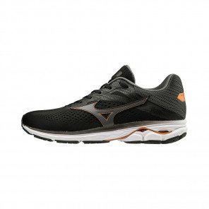 MIZUNO WAVE RIDER 23 Homme | Black / Dark Shadow
